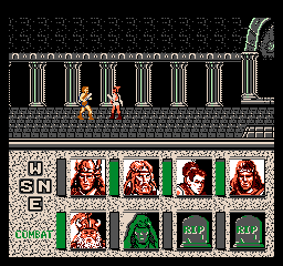 Screenshot #3 Advanced Dungeons Dragons Heroes Of The Lance