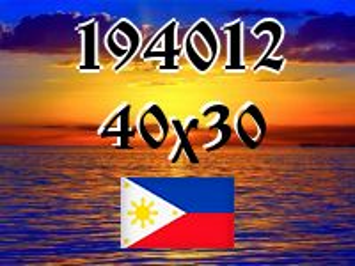 Filipino Puzzle №194012