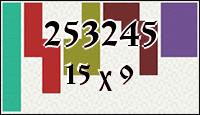 Полимино №253245