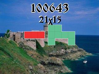 Puzzle полимино №100643