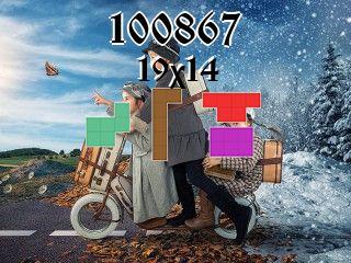 Puzzle полимино №100867