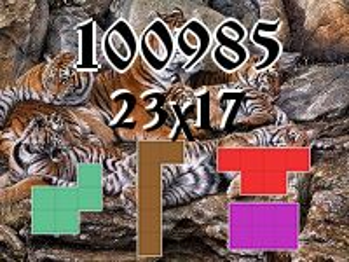Puzzle полимино №100985