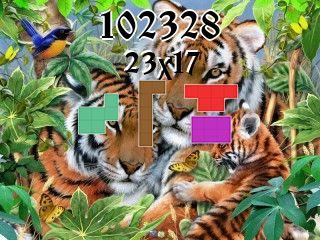 Puzzle полимино №102328