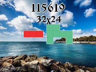 Puzzle полимино №115619