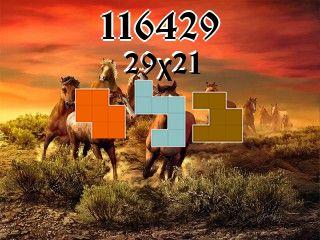Puzzle полимино №116429