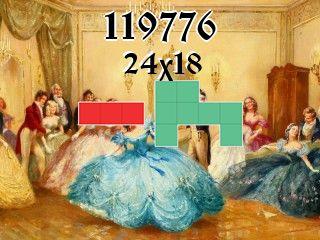 Puzzle полимино №119776