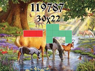 Puzzle полимино №119787