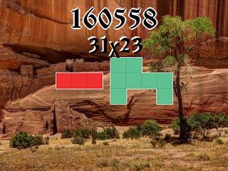 Puzzle полимино №160558