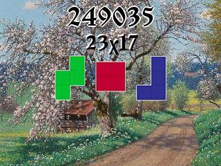Puzzle полимино №249035