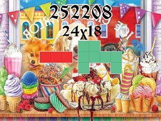 Puzzle полимино №252208
