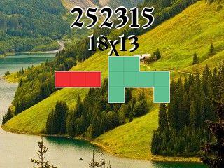 Puzzle полимино №252315