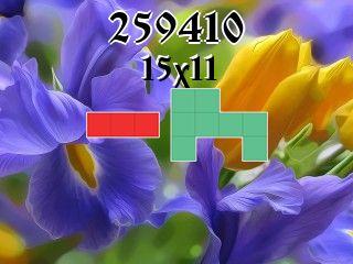Puzzle полимино №259410