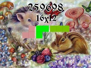 Puzzle полимино №259698