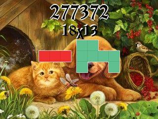 Puzzle полимино №277372