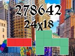Puzzle полимино №278642
