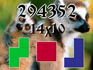 Puzzle полимино №294352