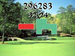 Puzzle полимино №296283