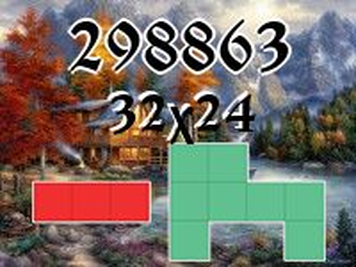 Puzzle полимино №298863
