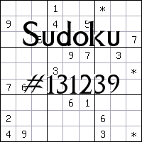 Sudoku №131239