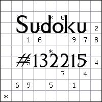 Sudoku №132215