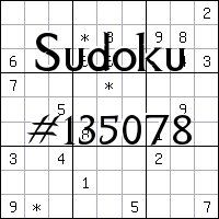 Sudoku №135078