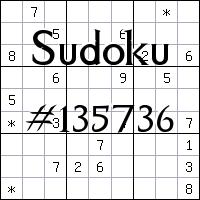 Sudoku №135736