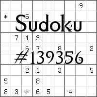 Sudoku №139356