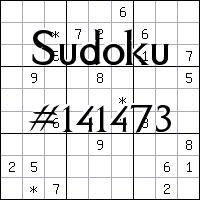 Sudoku №141473