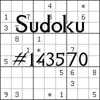 Sudoku №143570