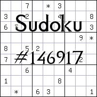 Sudoku №146917