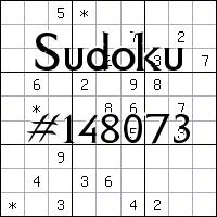Sudoku №148073