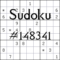 Sudoku №148341