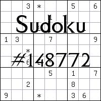 Sudoku №148772