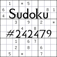 Sudoku №242479