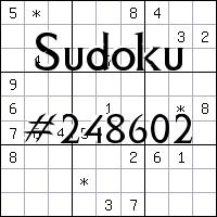 Sudoku №248602