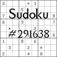 Sudoku №291638