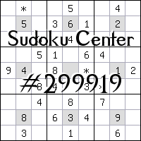 Sudoku-Zentrum №299919