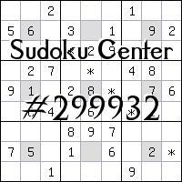 Sudoku-Zentrum №299932