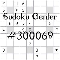 Sudoku-Zentrum №300069