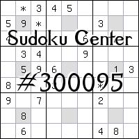 Sudoku-Zentrum №300095