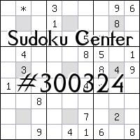 Sudoku-Zentrum №300324