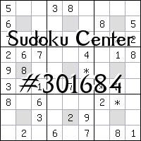 Sudoku-Zentrum №301684