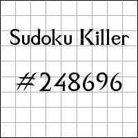 Killer Sudoku №248696