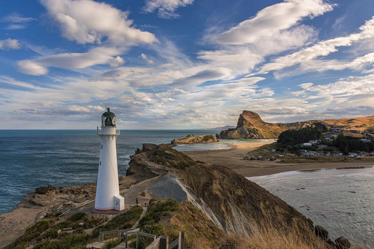 Puzzle Sammeln Puzzle Online - White lighthouse