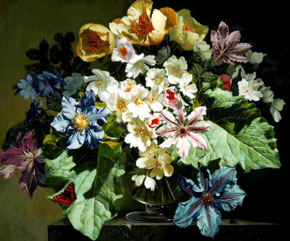 Puzzle Sammeln Puzzle Online - A large bouquet