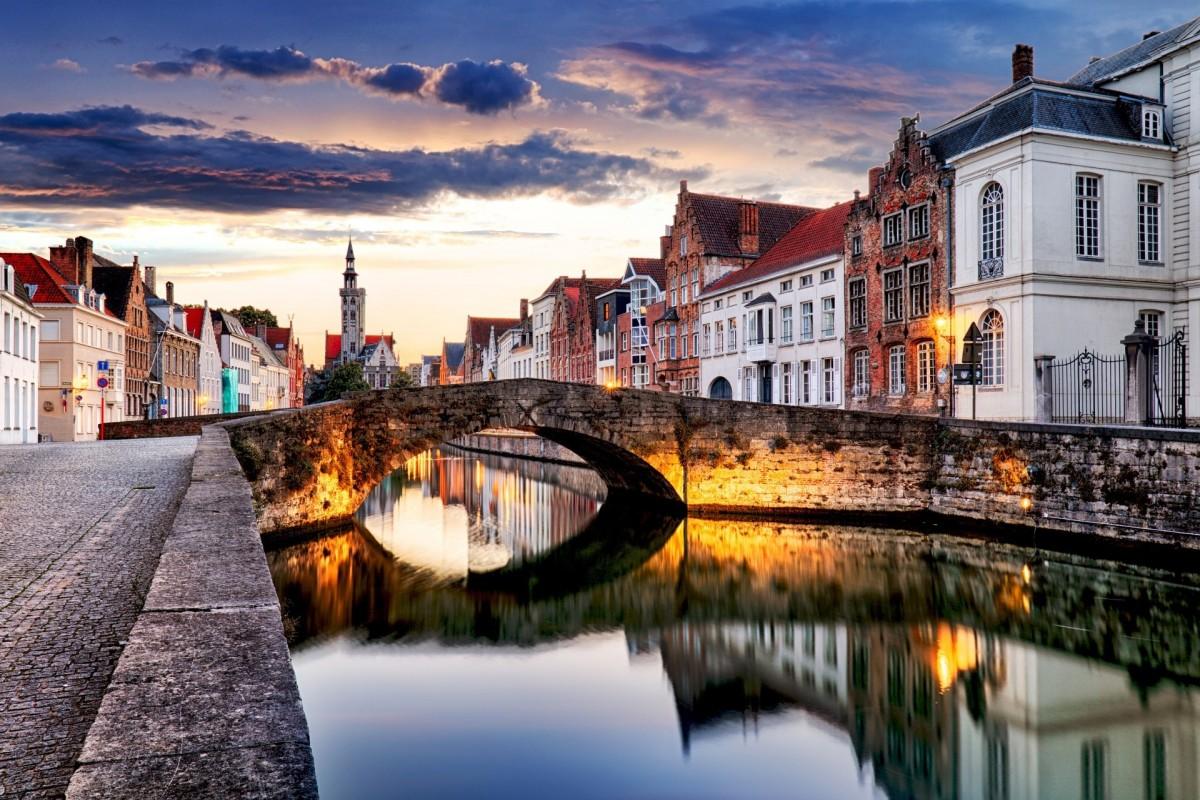 Puzzle Sammeln Puzzle Online - Bruges