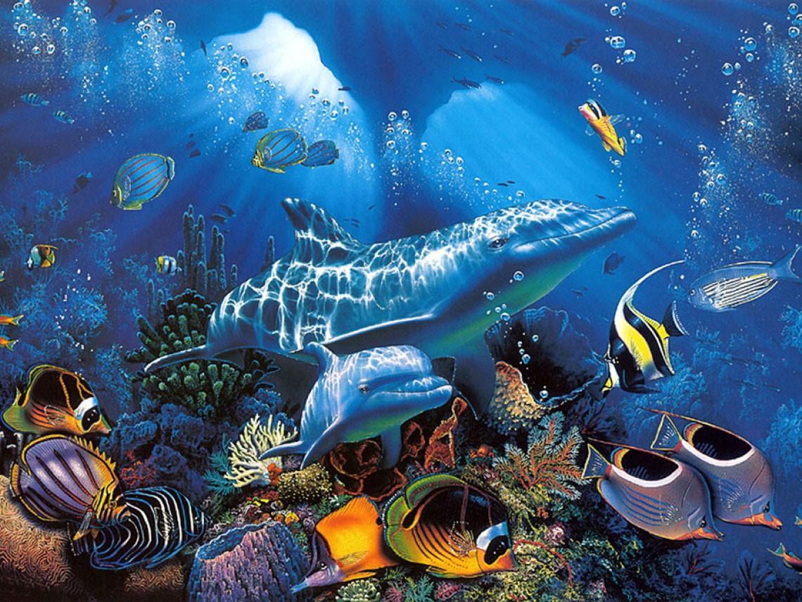 Puzzle Sammeln Puzzle Online - Delfini
