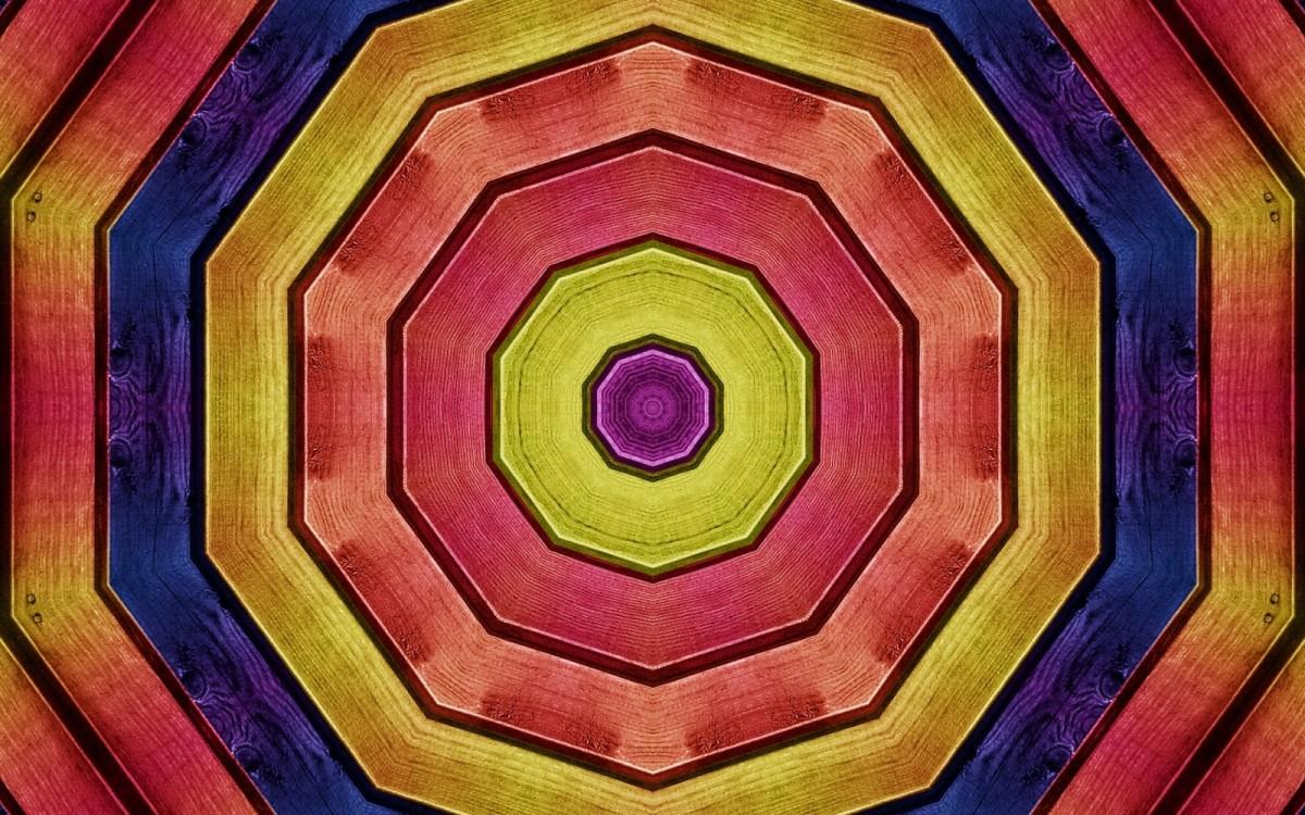 Puzzle Sammeln Puzzle Online - Wooden fractal