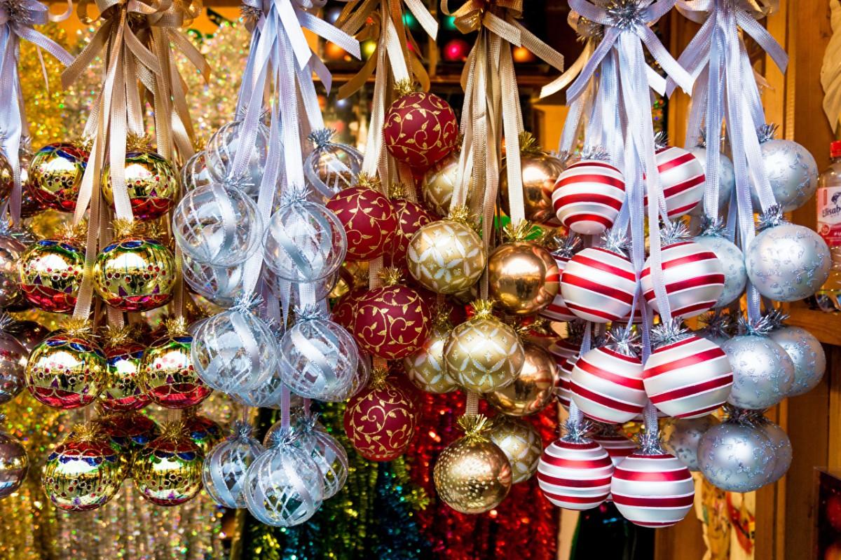 Puzzle Christmas balls