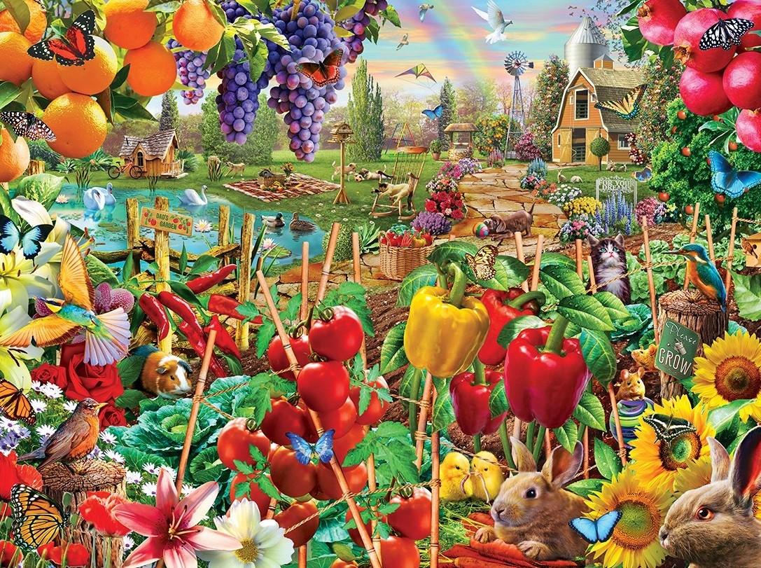 Puzzle Sammeln Puzzle Online - A good harvest